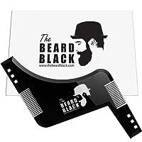 barba SHAPING & styling Tool moto con pettine per Perfect Line Up e orli, da usare con o barba, un rasoio a Style your barba e peli facciali, prodotto di qualità premium di la barba nero