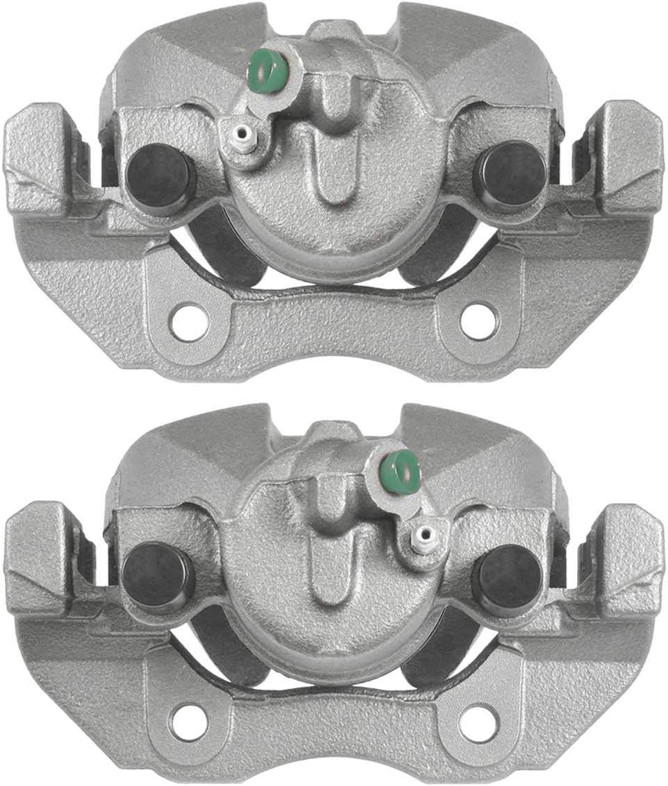AutoShack BC29998PR Front Brake Caliper Pair 2pc Fits Driver and Passenger Side