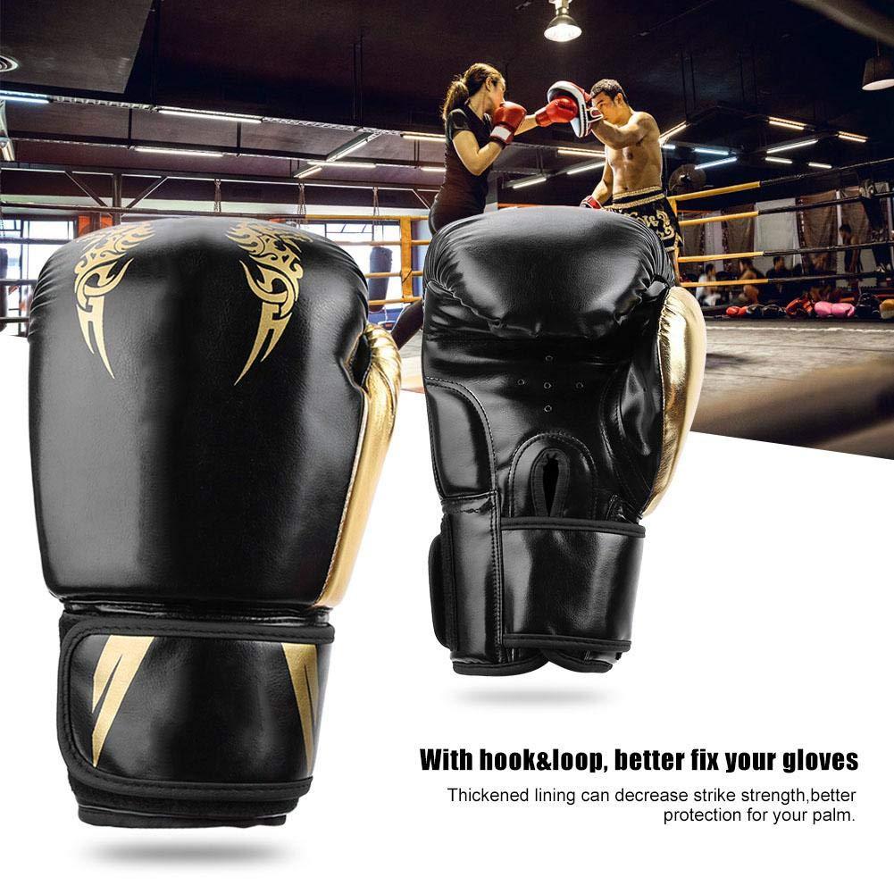 Bnineteenteam Guantes de Boxeo Que combaten los Guantes de Combate Sanda para Entrenamiento f/ísico etc.