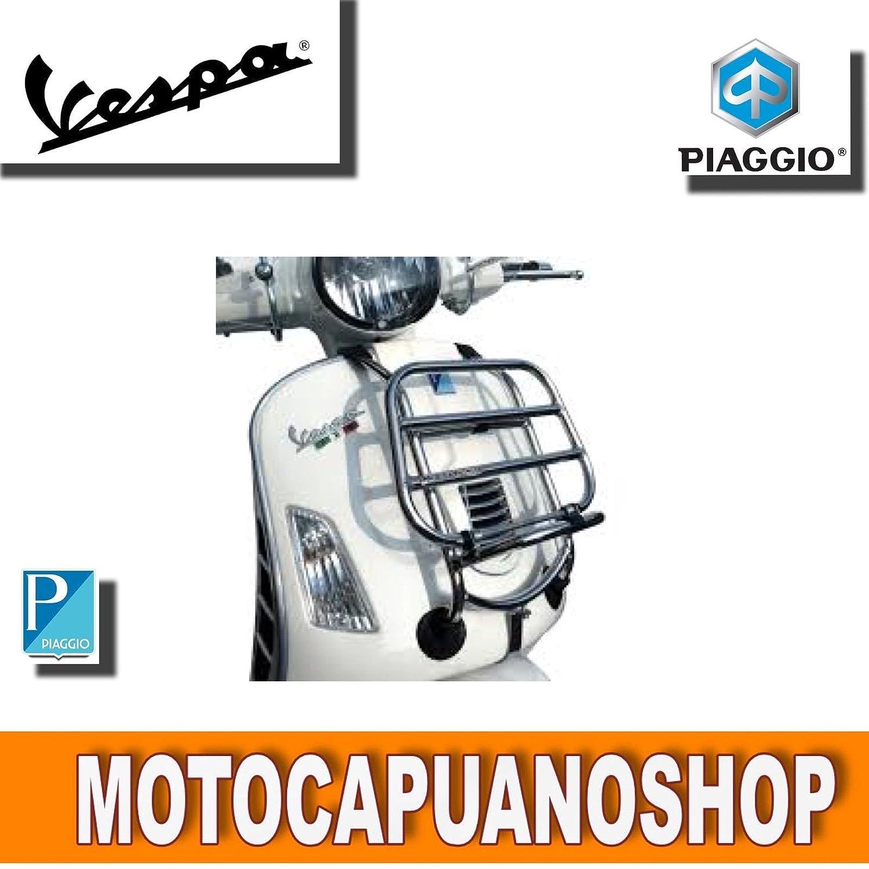 PORTAPACCHI ANTERIORE CROMATO VESPA GT SUPER GTS 125 250 300 MotoCapuano 152544327759