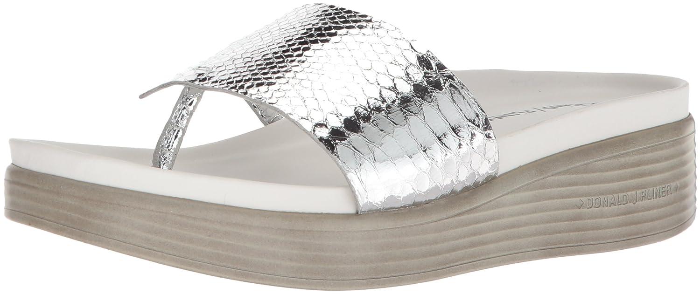 Donald J Pliner Women's Fifi19 Slide Sandal B0756G6CHD 9.5 N US|Silver