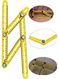 BaiEcom NEW IMPROVED Angleizer Measuring Template Tool With Metal Knob &FREE 2 EXTRA SCREWS For All Angles and Forms| Durable | Easy To Use Tightening Mechanism | For All Surfaces