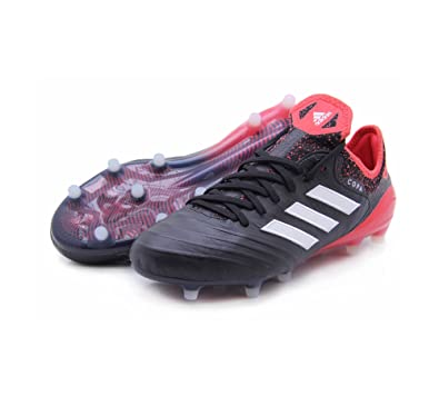 save off 73fb7 e0b8b adidas Copa 18.1 FG Cleat - Mens Soccer 6.5 Core BlackWhiteReal Coral