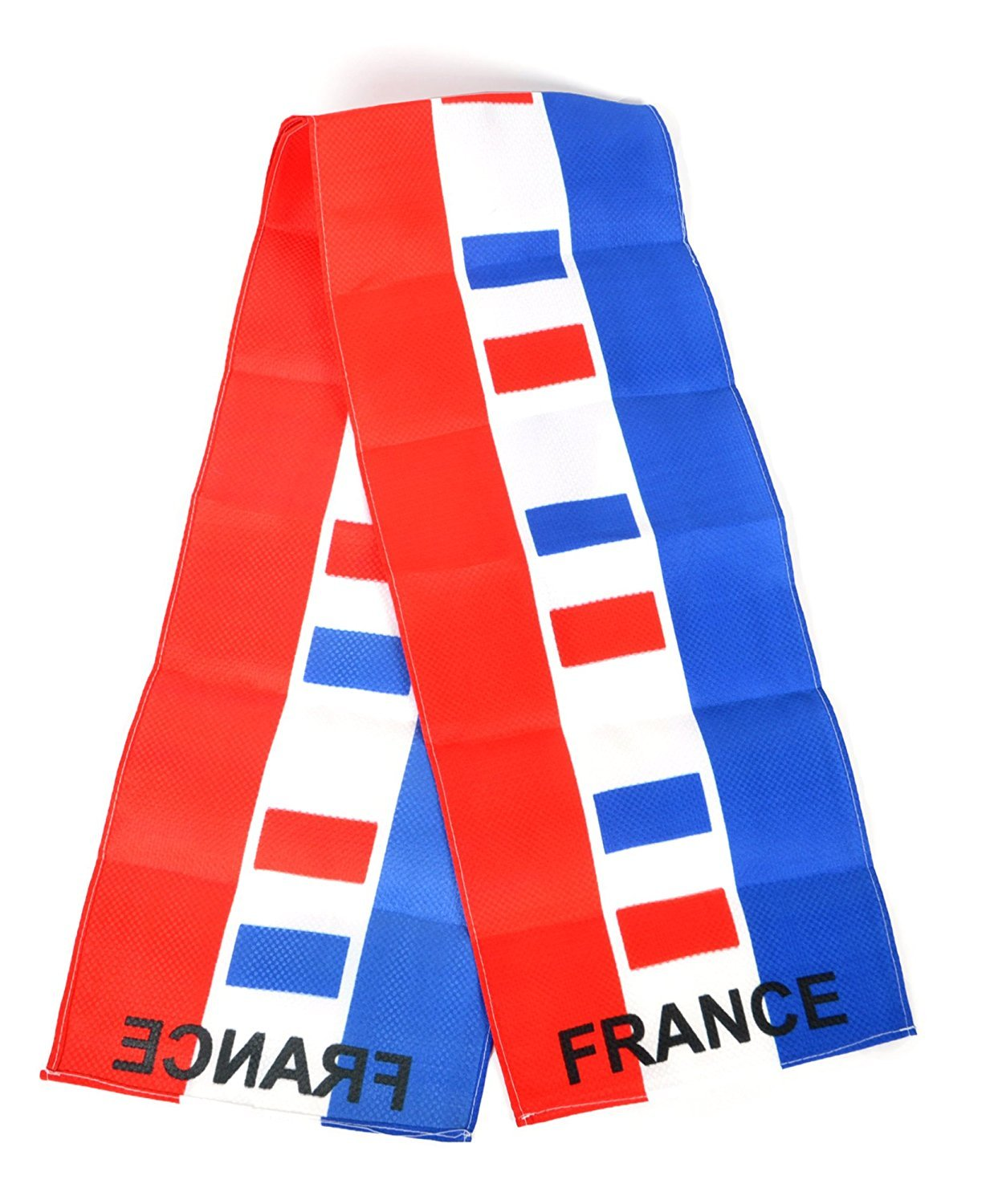 National Pride World Cup Scarves-3 Pieces Pack (France- 3 Pieces)
