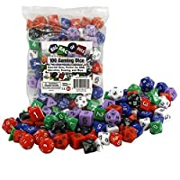Deals on 100 Gaming Dice by Monster - Assorted Sizes