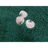 Personalised Terry Towelling Bowls Towel with Bowls Design (Green)