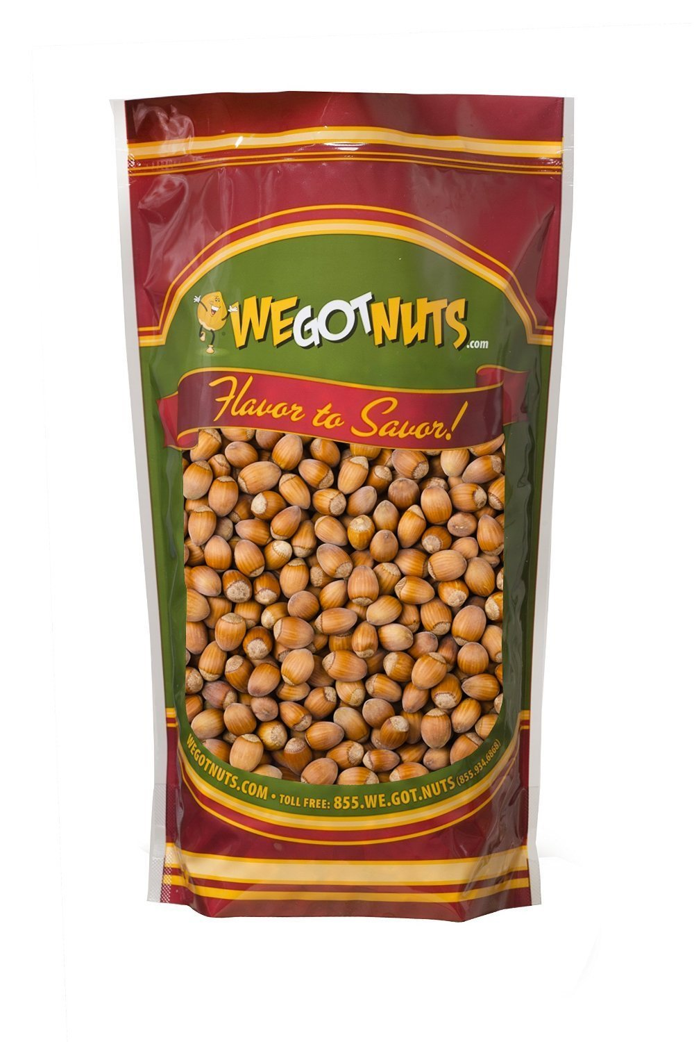 Hazelnuts (Filberts) In Shell , Raw - We Got Nuts (4 LBS.) by We Got Nuts