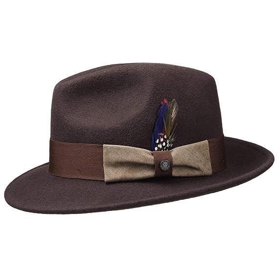 5f3820db88b Stetson Virgi Wool Felt Outdoor Hat Fedora  Amazon.co.uk  Clothing
