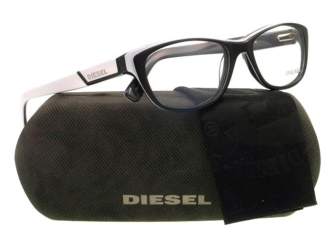 Amazon.com: Diesel anteojos DL 5012 Negro 005 dl5012: Diesel ...