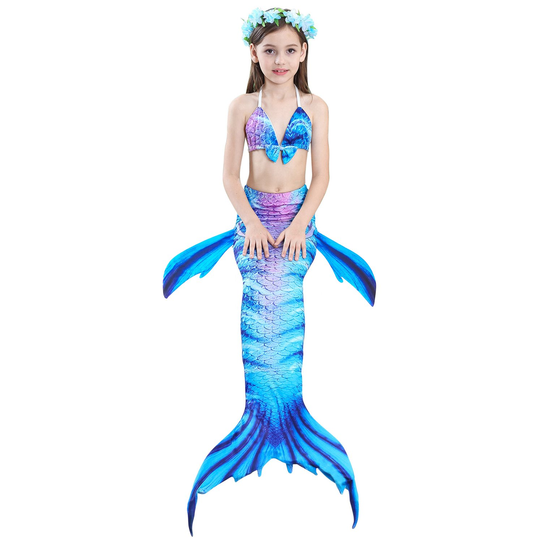 Das beste M/ädchen Bikini Badeanz/üge Sch/önere Meerjungfrauenschwanz zum Schwimmen mit Meerjungfrau Flosse Schwimmen Kost/üm Schwanzflosse EIN M/ädchentraum