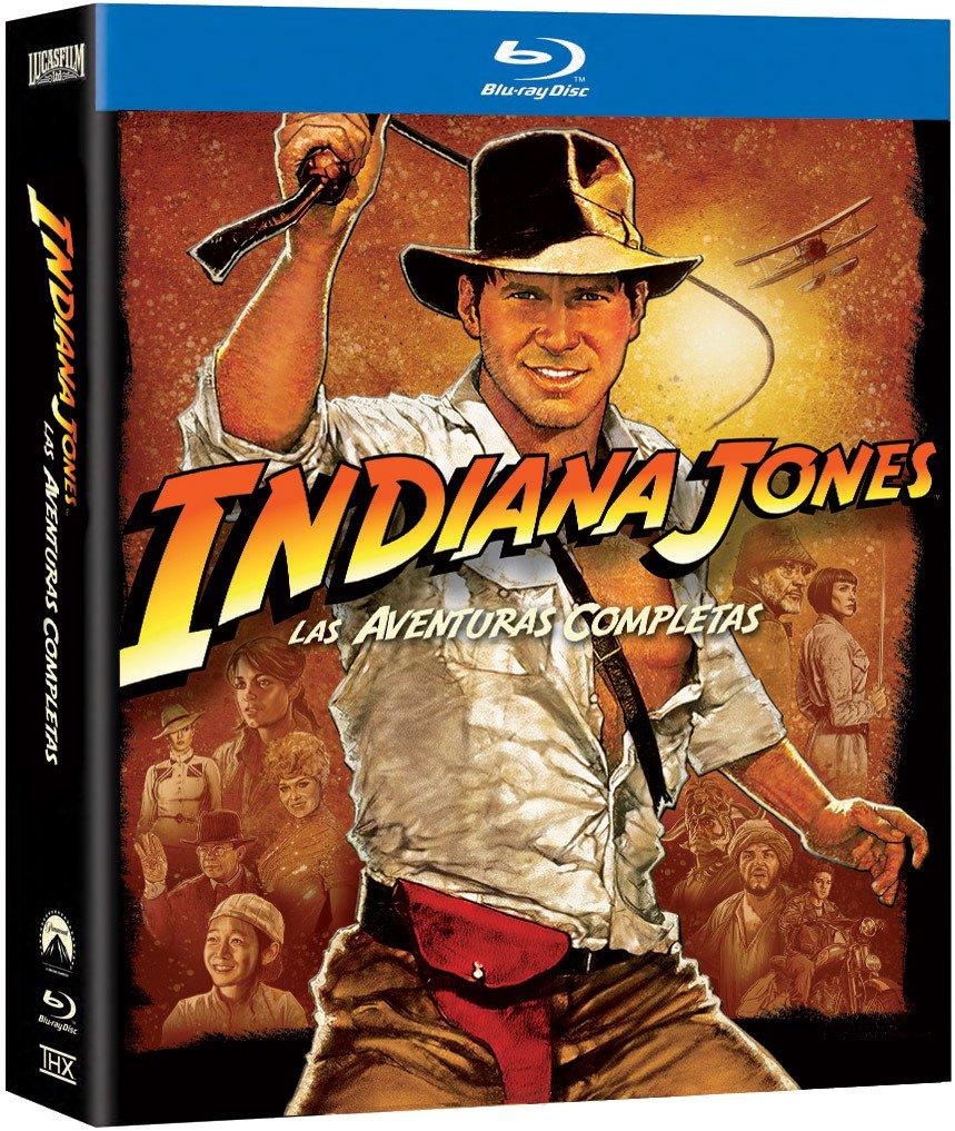 Indiana Jones: Las Aventuras Completas Pack Blu-ray Blu-ray: Amazon.es: Harrison Ford, Karen Allen, Sean Connery, Steven Spielberg, Harrison Ford, Karen Allen, George Lucas: Cine y Series TV