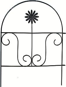 DLCUEL Fence Garden Landscape Edging Lawn Border Decorative Panels 4 Pack 18