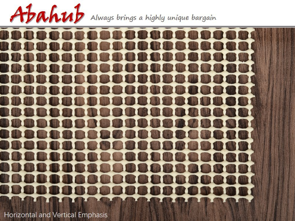 Abahub Anti Slip Rug Pad 8' x 10' for Under Area Rugs Carpets Runners Doormats on Wood Hardwood Floors, Non Slip, Washable Padding Grips by ABAHUB (Image #3)