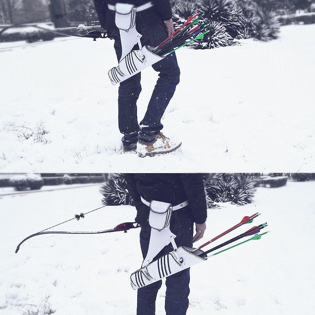 資本旅行者着る金曜日 弓道具 アーチェリー 矢筒 矢印バッグ 矢袋 3管タイプ 軽量