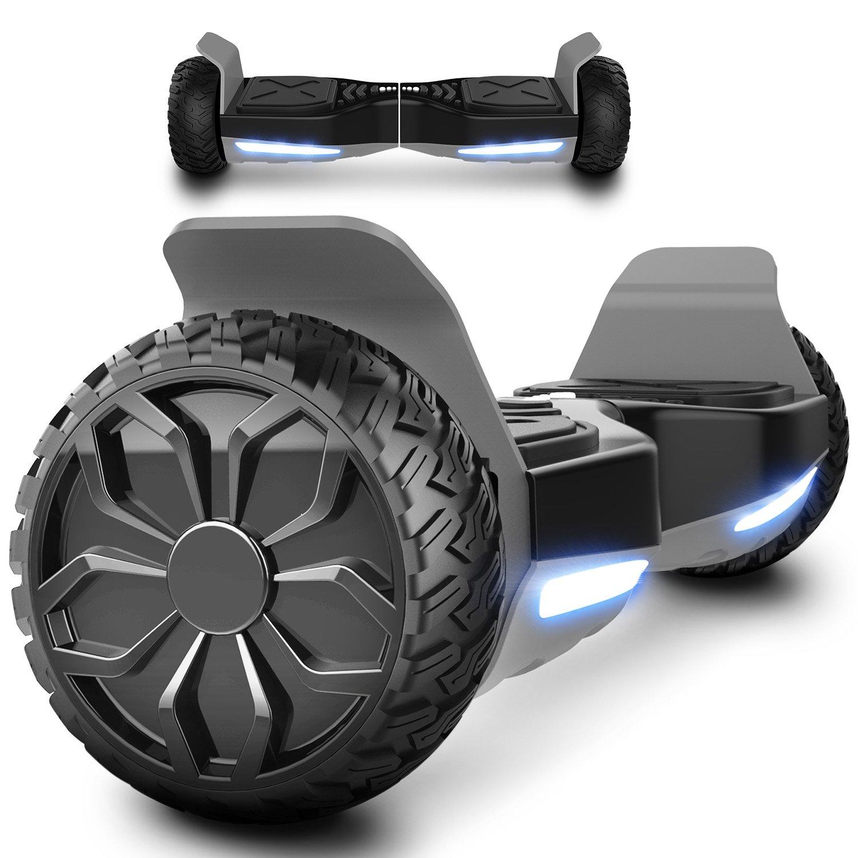 """Markboard Patinete Eléctrico 6,5"""" SUV Auto- Equilibrio Dual Motor con Bluetooth, LED Indicator EL-ES06"""