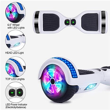 Amazon.com: Benedi Hoverboard - Patinete de dos ruedas con ...