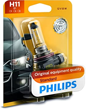 Fog Light Bulb-Standard Single Blister Pack Philips 886B1