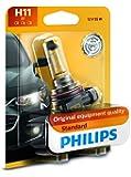 Philips 12362B1 H11 Standard Halogen Replacement Headlight Bulb, 1 Pack