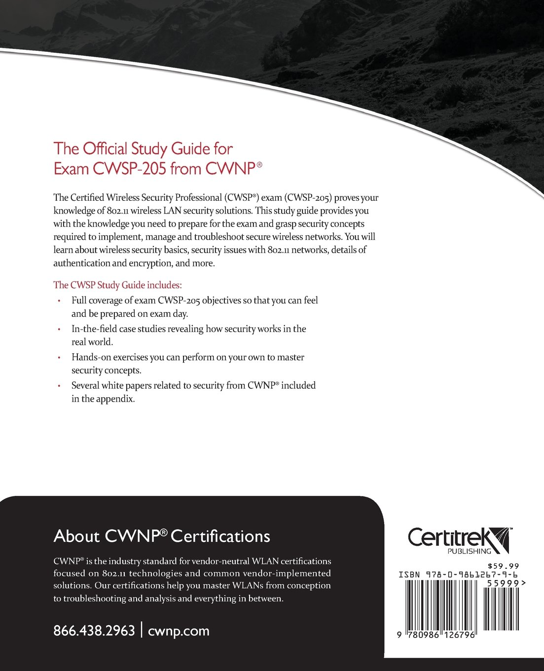 Buy Cwsp Rcertified Wireless Security Professional Official Study