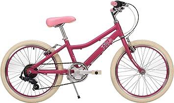 Raleigh Chic 2019 - Bicicleta para niña (Ruedas de 20 Pulgadas, Marco de 11 Pulgadas, 6 velocidades, Color Cereza): Amazon.es: Deportes y aire libre