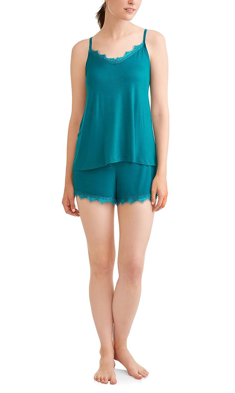Secret Treasures Galapagos bluee Cami Top & Shorts Pajama Sleep Set