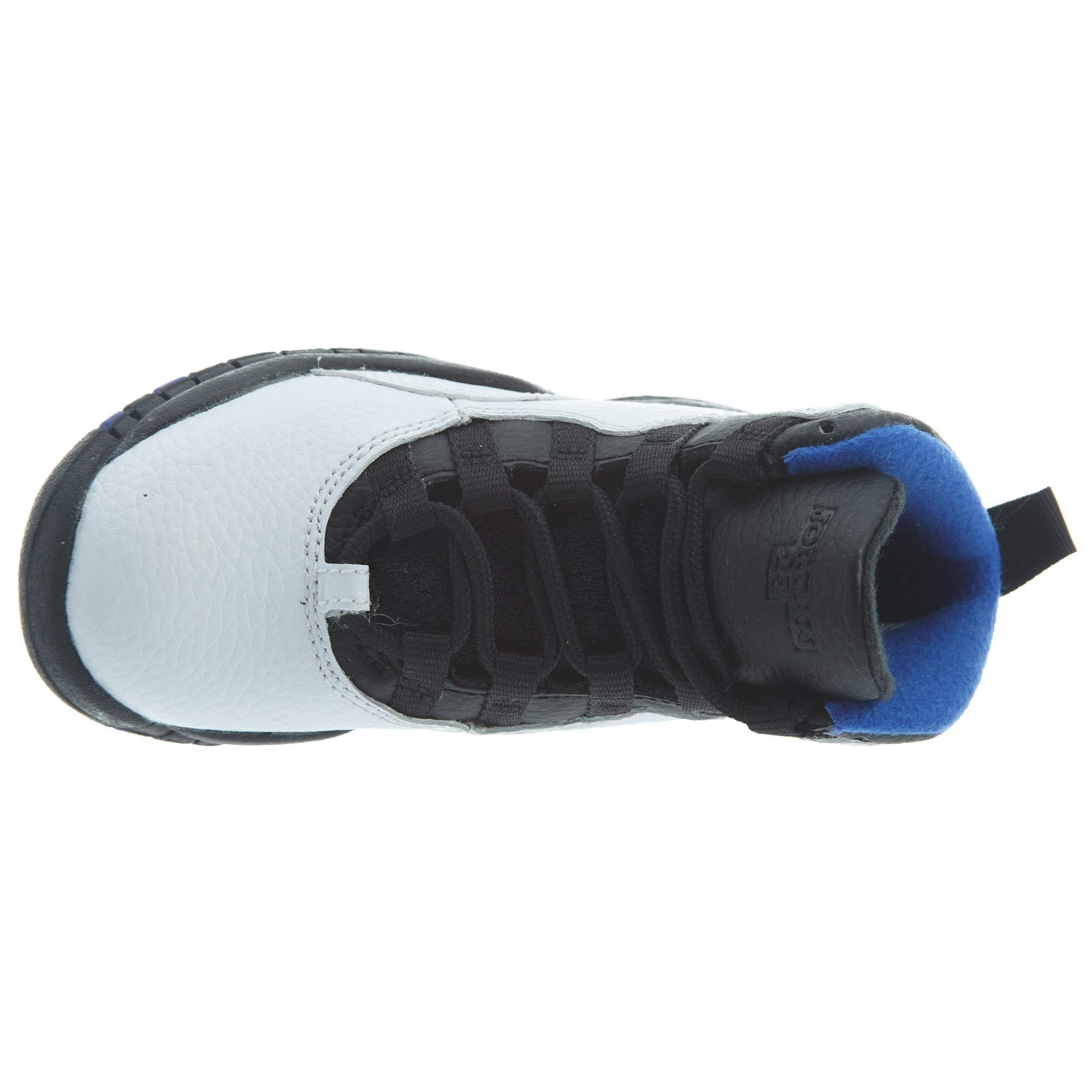 Jordan Air Retro 10''Orlando White/Black-Royal Blue (PS) (13 M US Little Kid) by Jordan (Image #6)