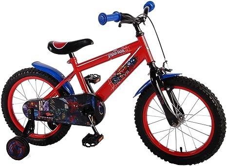 Bicicleta infantil Ultimate Spider-Man 16 pulgadas | contrapedal ...