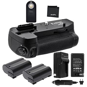 Amazon.com: battery grip Bundle F/Nikon D7100, D7200 ...