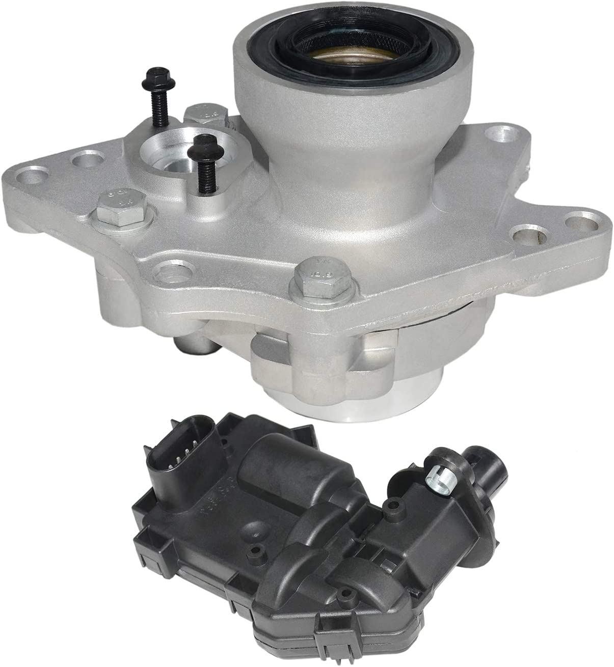 4WD Front Axle Differential Actuator and Disconnect For Chevrolet Trailblazer GMC Envoy XL XUV Isuzu Ascender Saab Buick Rainier Oldsmobile Bravada 4WD /& AWD Replace #12471623 12471631 15884292