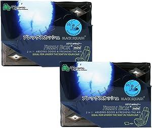 Treefrog Fresh Box Mini (Xtreme Fresh) 2-Pack Black Squash Scent JDM Air Freshener