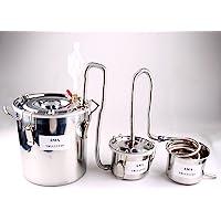 FayeLong - Kit completo para destilación casera: alambique