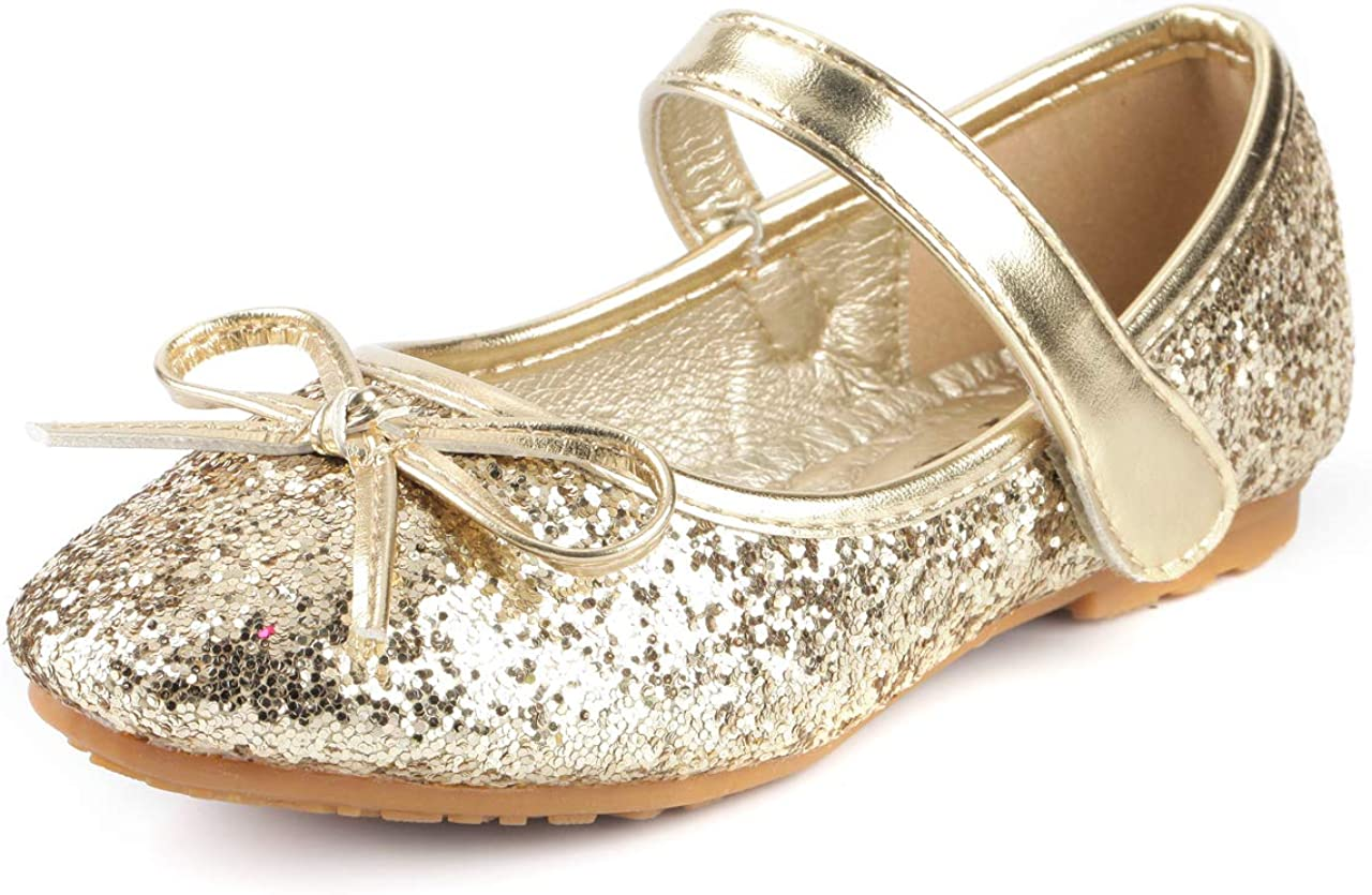 Pair Slip-on Bling Bling Flats Pumps Shoes for 18/'/' Ameircan Girl Doll Dresses