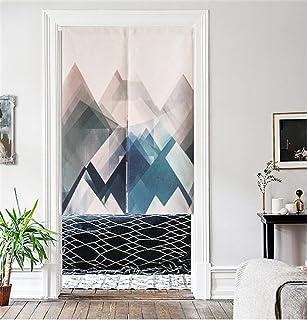 Japanese Noren cotton dragonflies blue door way curtain AA95