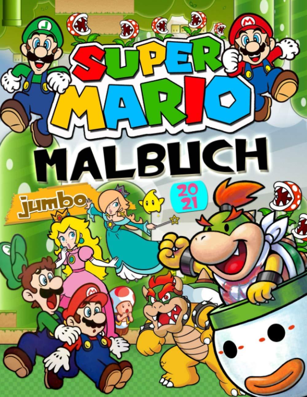 Super Mario Malbuch: Großartiges Super Mario Bros. Malbuch Mit