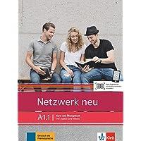 Netzwerk neu a1.1, libro del alumno y libro de ejercicios, parte 1: Kurs- und Ubungsbuch A1.1 mit Audios und Videos: Vol…