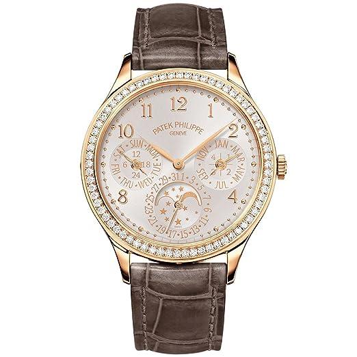 PATEK PHILIPPE Ladies Grand complicaciones 35 mm oro rosa reloj con bisel de diamante 7140r-001: Patek Philippe: Amazon.es: Relojes
