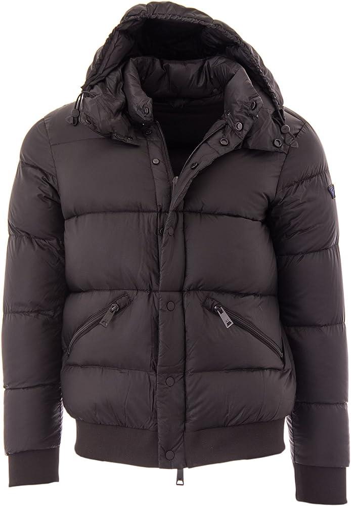 Armani Jeans Down Jacket Chaqueta, Negro (Nero 1200), Medium (Talla del Fabricante: 50) para Hombre: Amazon.es: Ropa y accesorios
