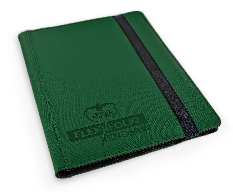 Ultimate Guard FlexXfolio 9-Pocket XenoSkin Green Card Game UGD010206