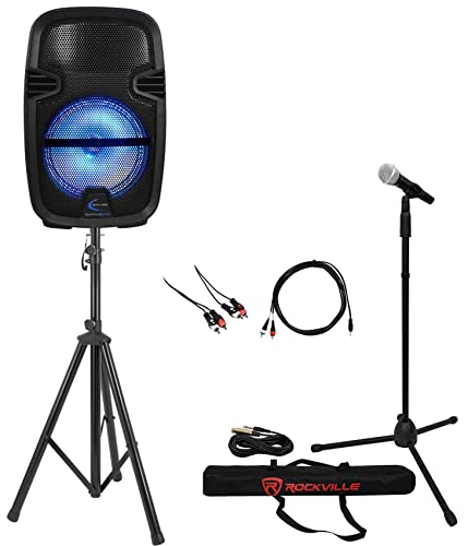 1000w Karaoke Machine LED Support review