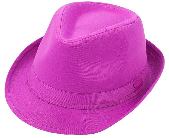 Amazon.com  Milani Fedora Hat with Matching Band  Clothing 89a6957c279