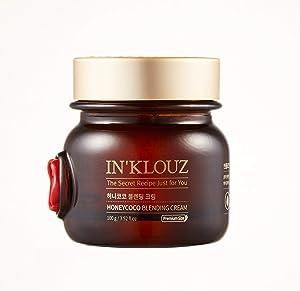 IN'KLOUZ Honeycoco Blending Cream, Face moisturizer for dry, sensitive skin, 3.52 fl.oz / 100g, Honey + Propolis + Coconut Water