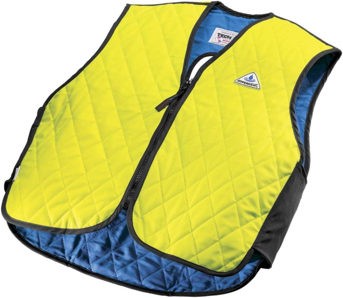 TECHNICHE INTERNATIONAL 6529-HV-SH-2XL Hyperkewl Evaporative Cooling Fall Prevention Vest, Hi-Viz Lime, XX-Large, 10 Per Case