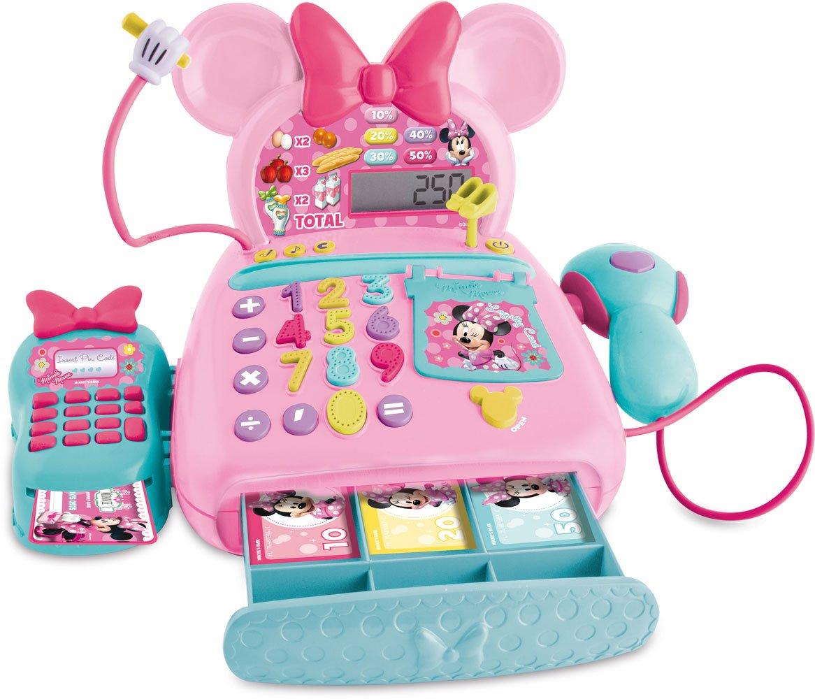 Minnie Mouse IMC Toys Caja registradora electrónica Modelos surtidos por colores unidad