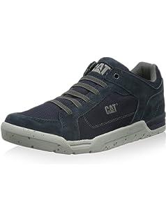 Cat Footwear ZIMZALA CANVAS, Low-Top Sneaker uomo, Blu (Blau (MENS NAVY)), 40