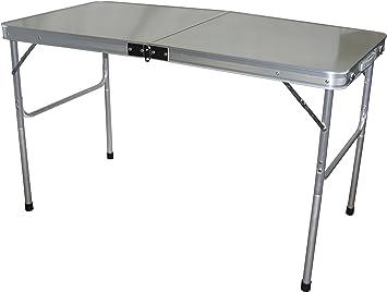 Hosa - Mesa Plegable 120 x 60 cm. Aluminio - Mesa Plegable ...
