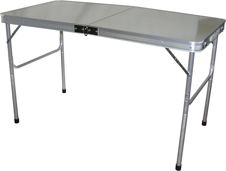 Hosa Klapptisch 120 x 60 cm Aluminium