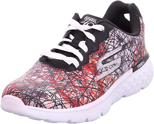 Sobrevivir Faial Consumir  Skechers Performance Go Run 400 tenis para correr para mujer, Negro  (Negro/Blanco), 38 EU: Amazon.es: Zapatos y complementos
