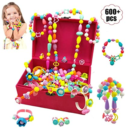 Amazon.com: Leint Pop Beads Set de manualidades y ...