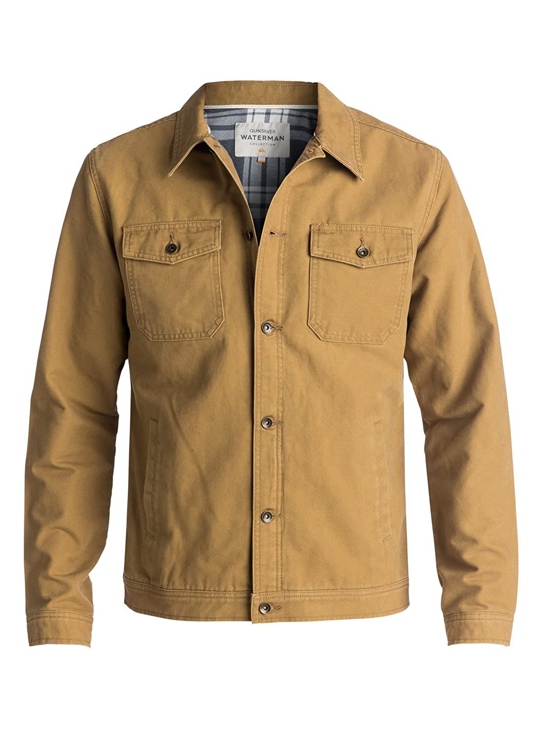 Quiksilver Mens Tradie Canvas Button Down Jacket