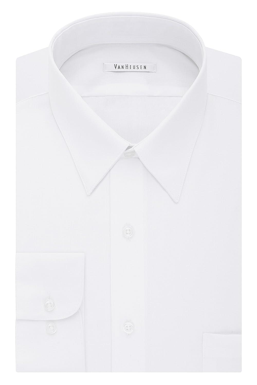 Van Heusen Big And Tall Mens Dress Shirts Tall Fit Poplin Point Collar by Van+Heusen